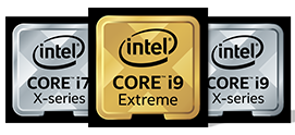 Intel Core X-series up to 18 cores
