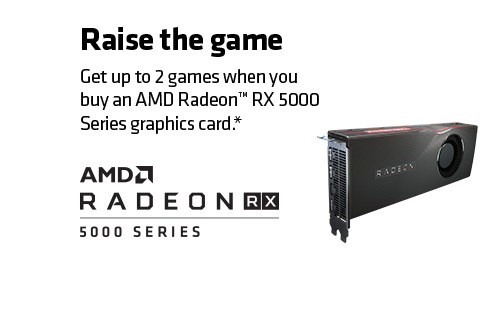 Radeon Raise the Game Logo